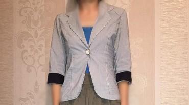 Туфли один раз одеты - Кыргызстан: Продаю пиджак в синию полосочку, размер 36, одет пару раз