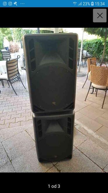 Muska odela - Srbija: Zvucnici Lux-152 u odlicnom stanju,brutalan zvuk.sve fabricko horne