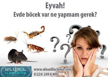 Məişət xidmətləri Azərbaycanda: ---dezinfeksiya deratizasiya Xidmeti bakteriyalar ve zererli heseratl