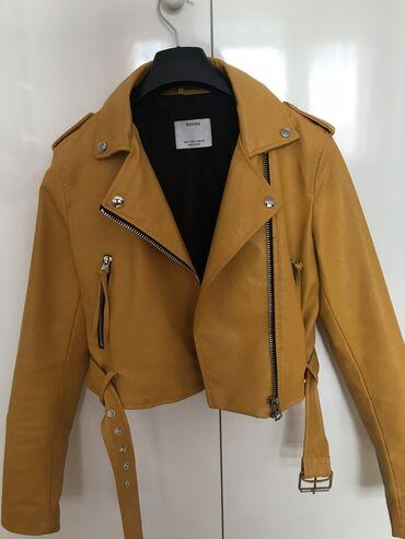 Bershka kozna jakna - nosena par puta ali odlicno ocuvana, kao nova