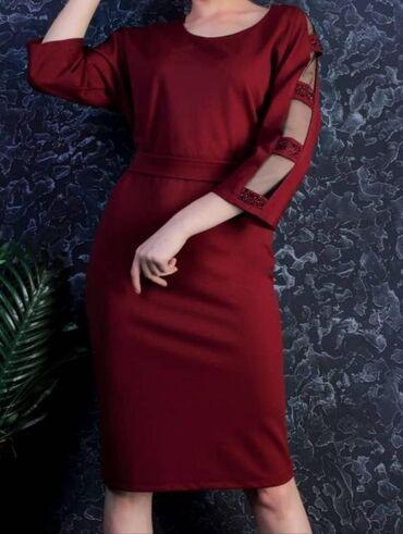 вечернее платье бирюзовый в Кыргызстан: Платье Вечернее Fashion Girl XL