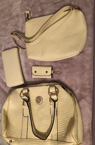 Новый набор сумокТурецкое производство В комплекте:Сумка, поменьше