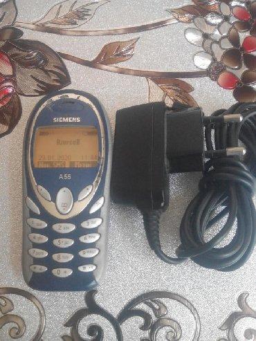 Siemens a57 - Azerbejdžan: Salam şəkildə olan Siemens a55 ələ telefondur bu Almaniya istehsalı