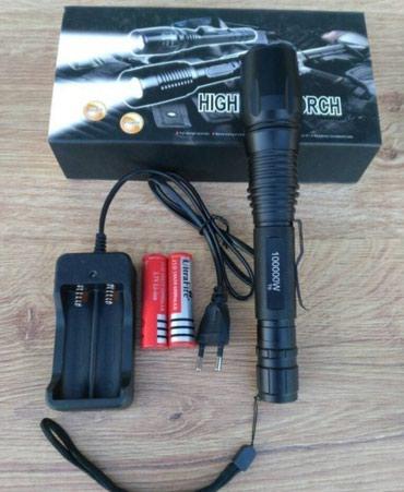 Baterijska Lampa punjiva Police 100000W. - Batajnica