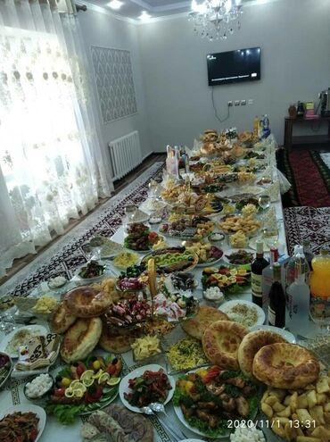 продукты на дом бишкек в Кыргызстан: Выездные банкеты   Повара   Фуршетный стол