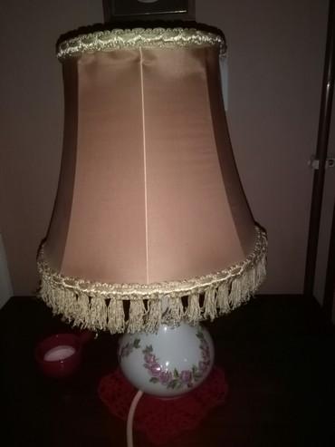 Rasveta | Sombor: Lampa handmade porcelan,ima dusu. pogledaj moje oglase ima preko 900
