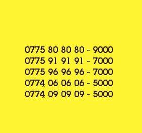 Элитные номера с кодом 775. Тариф супер укмуш. Звоните только тогда,ко in Бишкек