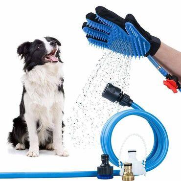 Odelce za psa - Srbija: Rukavica za kupanje psa