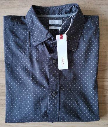 Esprit-manti - Srbija: ESPRIT siva košulja, polka dots, veličina XXL - NOVO   ESPRIT košulja