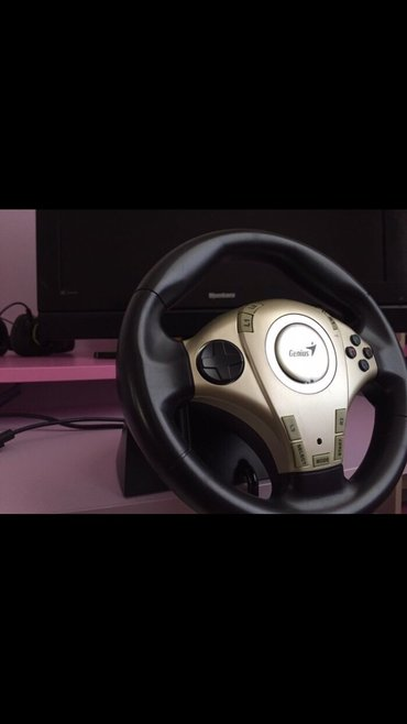 Bakı şəhərində Genius wheel ( ps 2 ve pc üçündür )