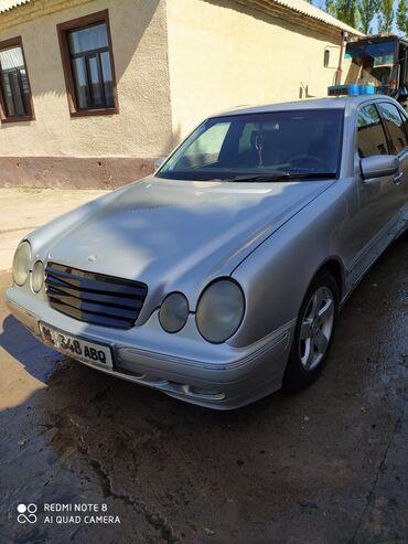 Mercedes-Benz в Кыргызстан: Mercedes-Benz E 270 2.7 л. 2001