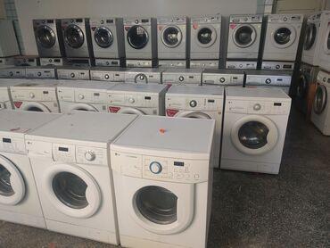 стиральная машина малютка с отжимом цена in Кыргызстан | СТИРАЛЬНЫЕ МАШИНЫ: Фронтальная Автоматическая Стиральная Машина LG 5 кг