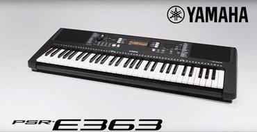 Синтезатор yamaha psr-e363, обновлённая в Бишкек