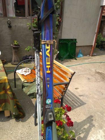 Skije sa štapovima marke head moguć dogovor - Indija