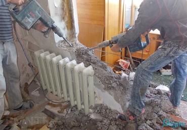 Бетонные работы - Кыргызстан: Демонтажные работы (Кирпичные, бетонные, саманные,Гипсокартон и многое