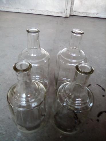 Кухонные принадлежности в Кок-Ой: Графин стекло каленое СССР2шт - 1,5 литра2шт - 2 литра.Цена 250
