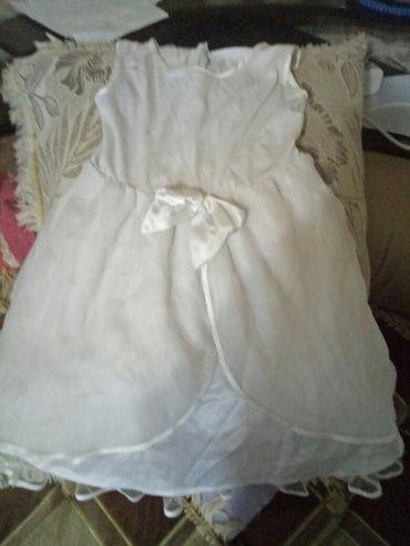 Продаю нарядное платье на рост 110 см. в Бишкек
