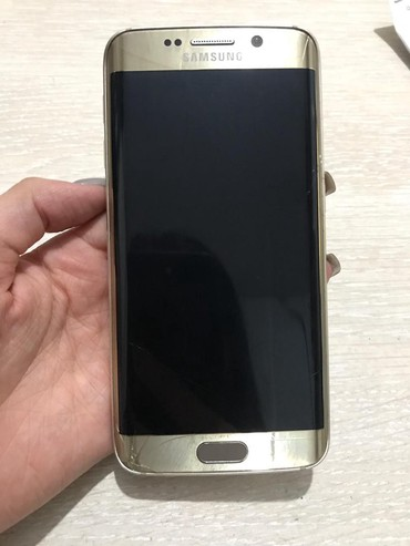 Б/у Samsung Galaxy S6 Edge 32 ГБ Золотой в Бишкек