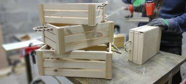 табуретка скамейка в Кыргызстан: Столярная мастерская изготовит изделия из дерева на заказ.#ящики