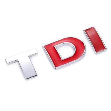 Samolepljiva metalna TDI - crveno DI i crveno I - Zrenjanin
