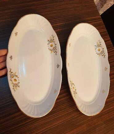 большая клетка для морской свинки в Азербайджан: 2 больших блюда,советские. Очень красивые. Новые