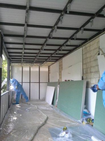 Утепление балконов,отделочная работа лоджий и балконов в Сокулук