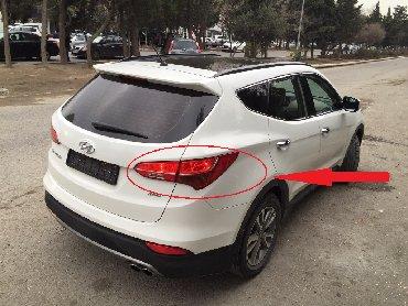 """hyundai santa fe - Azərbaycan: """"Hyundai Santa Fe"""" stop işıqları  Hyundai Santafe arxa stop işıqları"""