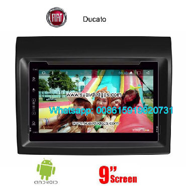 Fiat Ducato Car audio radio update android GPS navigation camera