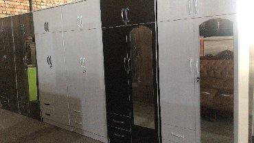 шкаф двухдверный в Кыргызстан: Двухдверные новые шкафы по оптовым ценам!!!  Размеры высота: 2-метра