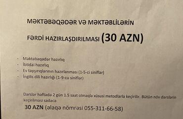 muncuqdan boyunbagi v muncuqlar - Azərbaycan: Məktəbəqədər və məktəblilərin hazırlaşdırılması sadəcə 30 AZN. 1 dərs