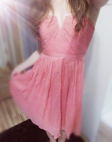 Миленькое  платье. Длина чуть ниже колен(на рост 167).Размер s в Бишкек