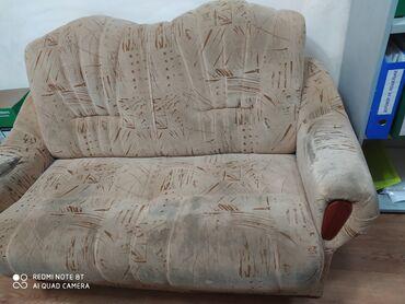 прод дом в Кыргызстан: Прод. небольшой диван Б\у . Состояние нормально. Длина дивана 156 см