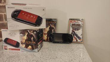 PSP (Sony PlayStation Portable) - Azərbaycan: PSP God of War edition + Tekken və God of War oyunlari (sağ düymə