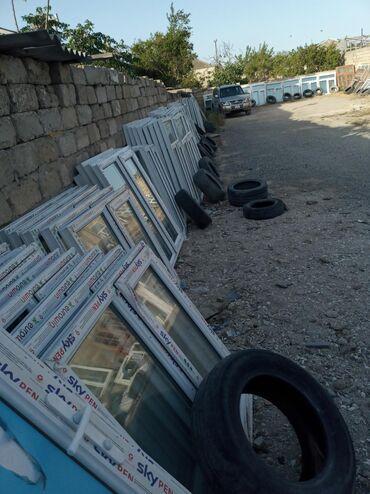Plastik baklar qiymeti - Azərbaycan: 120×155=90 manat 1 ededin qiymeti teze plastik pencereler Bine Sovxoz