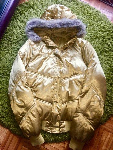 Italjanska zimska jakna, sa krznom i kapuljacom, koja se skida, nova - Beograd