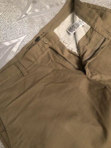 Шорты - Бишкек: Мужские брюки хаки отличное качество размер 36х32