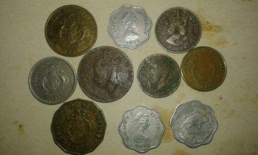 Монеты сейшел. островов 48,67,72,77,,81,82г. 2100сом. в Токмак