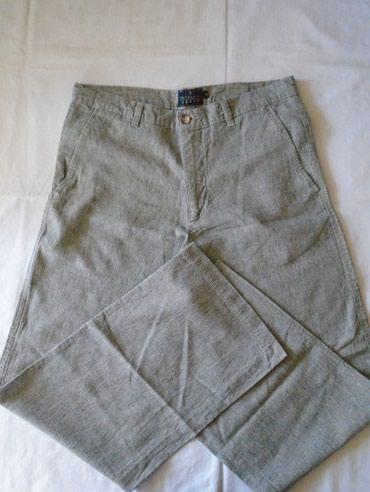 Trussardi muške lanene pantalone, prijatne za nošenje od prirodnog - Beograd