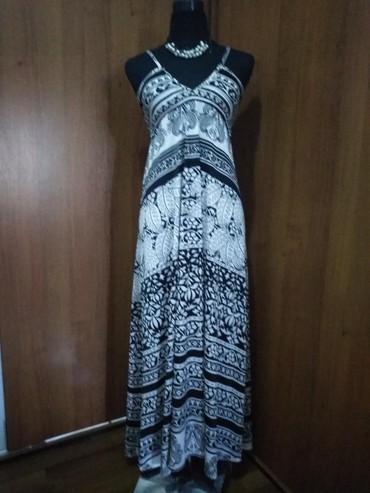 коктейльные платья в пол в Кыргызстан: Сарафан новый, размер 42-44, почти в пол при росте 160-64, прохладная