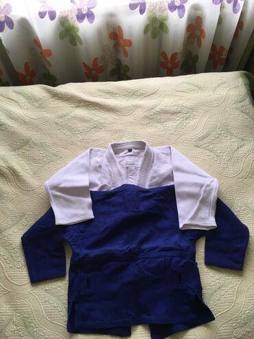 хир форма в Кыргызстан: Самбовки новые, не ношенный!! Форма дзюдо самбо!! Дёшево отдам