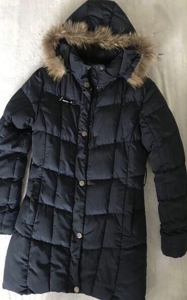 Mantil zimski - Srbija: Zenska duga zimska jakna. Velicina XL