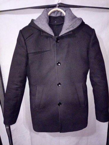 пальто мужское, размер 46, утепленное, капюшон отстегивается, состояни в Бишкек