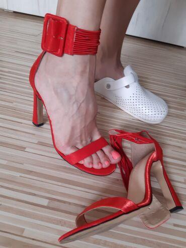 Ženska obuća | Nis: Lescarpe sandale broj 38. Nosene samo jednom prilikom i nikada vise