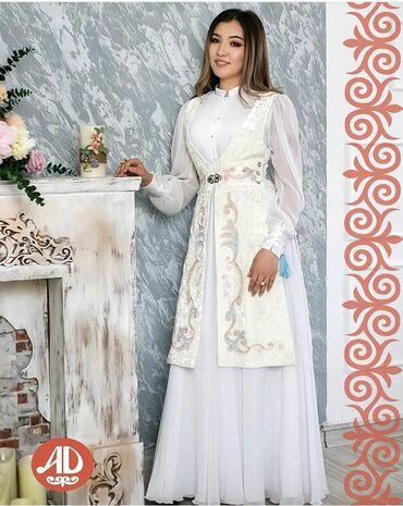 Пошив и ремонт одежды - Кыргызстан: Плятье для кыз узатуу Платье на заказ Накидки, Жилетки и Белдемчи