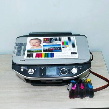 туалетная бумага бишкек в Кыргызстан: 6 цветный принтер, 3в1, мфу, печатает, копирует, сканирует epson