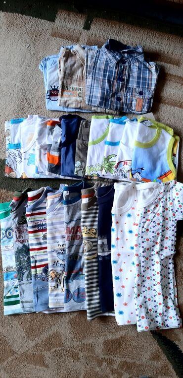 детские вещи б у в Кыргызстан: Вещи на мальчика.1-2 годика.Б/у.Состояние