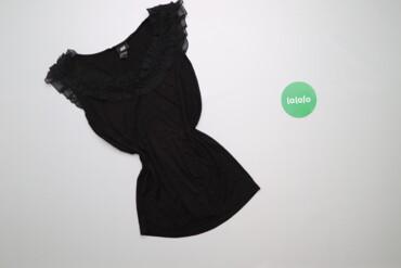 Жіноча блуза з рюшами без рукавів H&M, p. M    Довжина: 60 см Шири