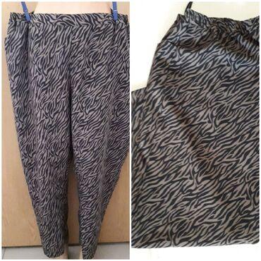 Pantalone cm - Srbija: Plus size pantalone 7/8Obim struka se rasteže do 130 cm, dužina 99cm