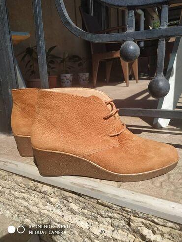 razmer 38 39 в Кыргызстан: Кожаные ботинки на танкеткеАбсолютно новые, заказывала из Америки.Своя