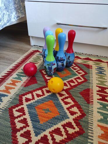 Кегли игрушки. Состояние отличное